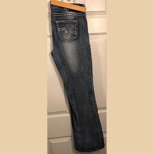 Vanity Premium Collection Flare Medium Wash Jeans